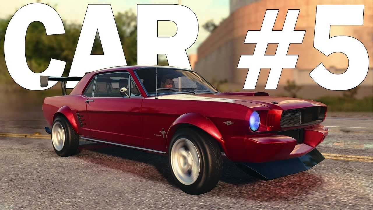 Ford Mustang 65 Need For Speed Heat Customization Gameplay