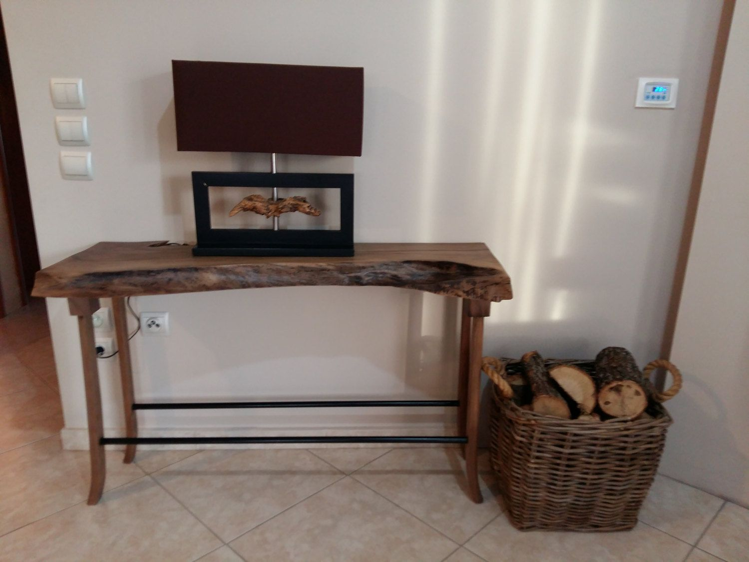 entryway tables and consoles. Walnut Console Table / Live Edge Entryway Signature Tables And Consoles E