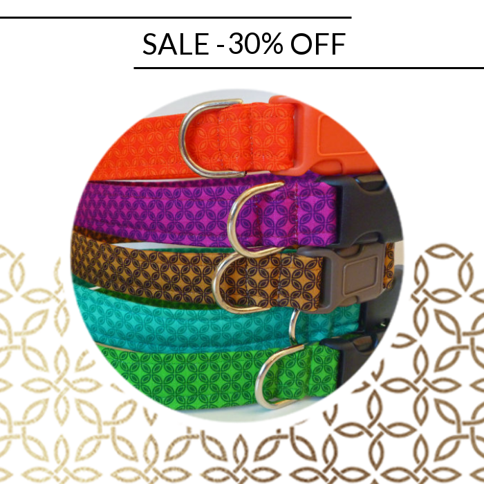 30% OFF on select products. Hurry, sale ending soon!  Check out our discounted products now: https://www.etsy.com/shop/katiesk9kollars?utm_source=Pinterest&utm_medium=Orangetwig_Marketing&utm_campaign=Fall%20Collars