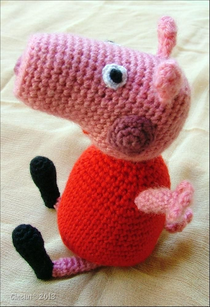 Peppa Pig Amigurumi | crochet and knit projects | Pinterest