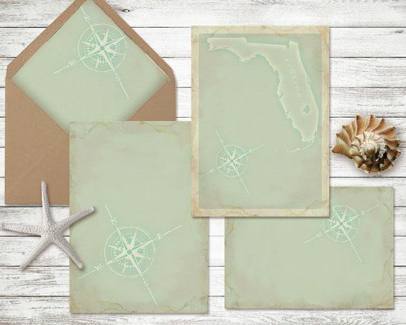 Diy Wedding Invitation Kit Beach Theme