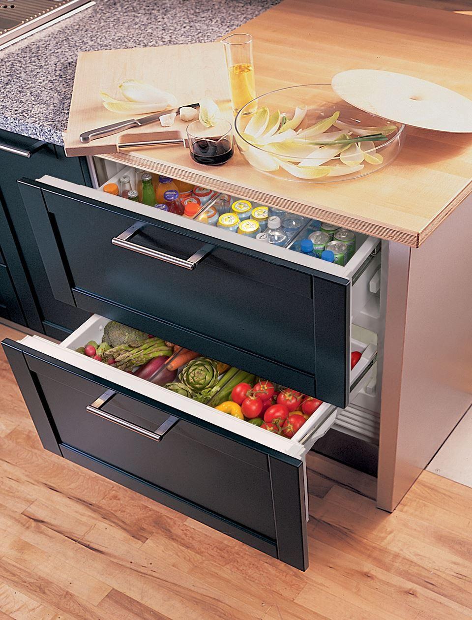 36 Designer Refrigerator Drawers With Air Purification Panel Ready Refrigerator Drawers Refrigerator Panels Fridge Design