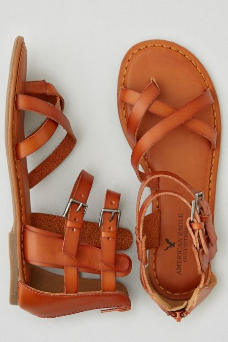 c4e0b9e69 American Eagle Outfitters AEO Strappy Gladiator Sandals