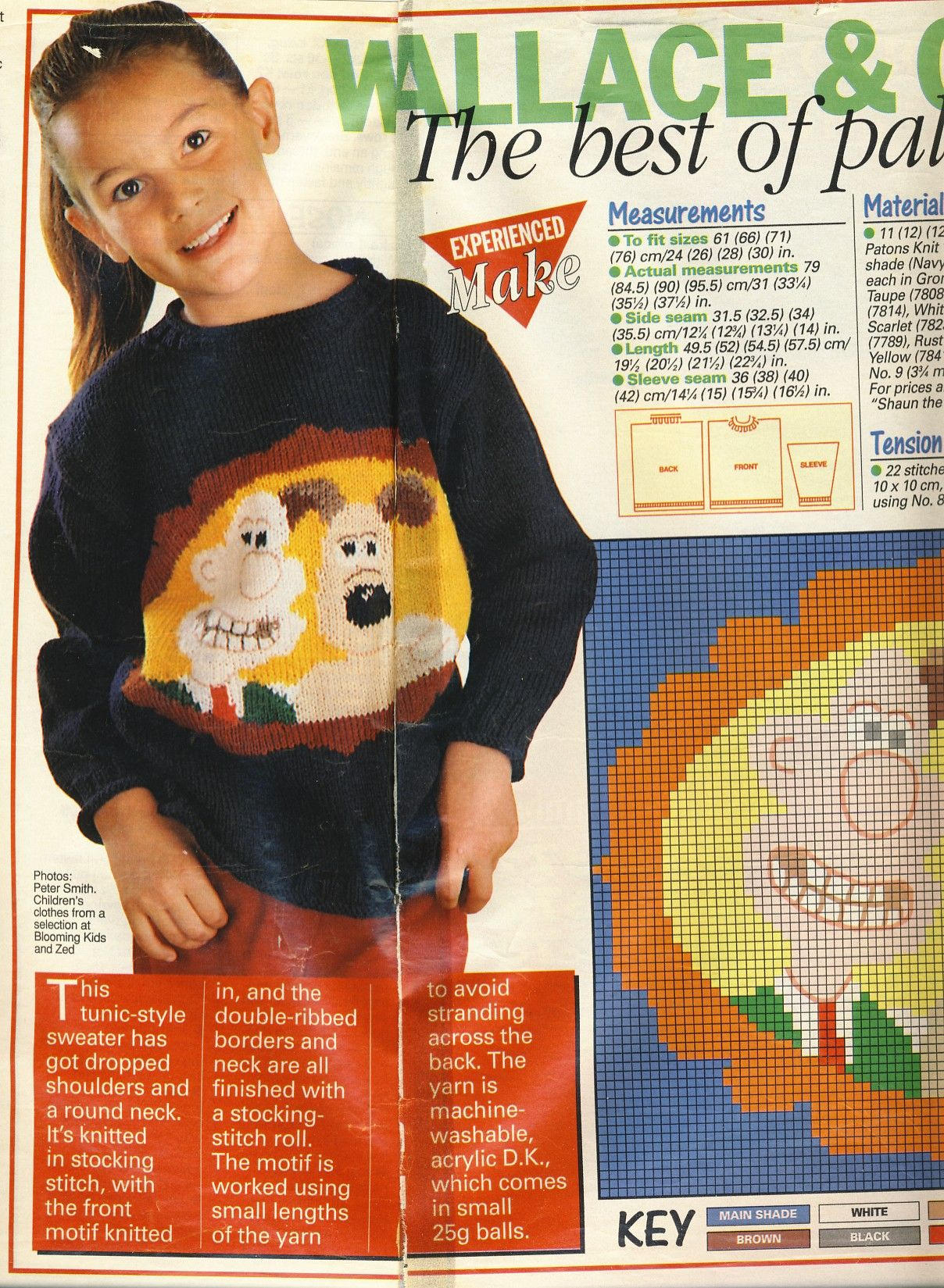 Wallace & Gromit jumper by Alan Dart. Unlisted shop stock ...