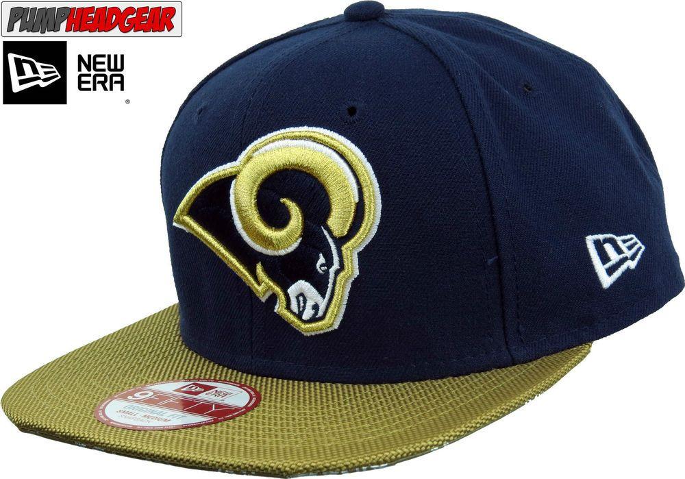 8f5106d1fa2 Los Angeles Rams New Era 950 NFL Sideline Snapback Cap