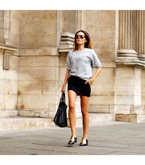 street style, Céline flats, perfection