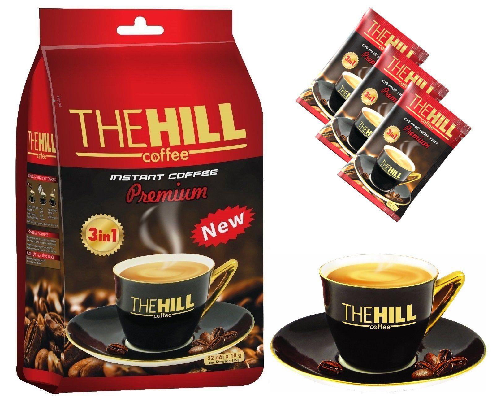 The Hill 3in1 Instant Premium Vietnamese Coffee. Fine