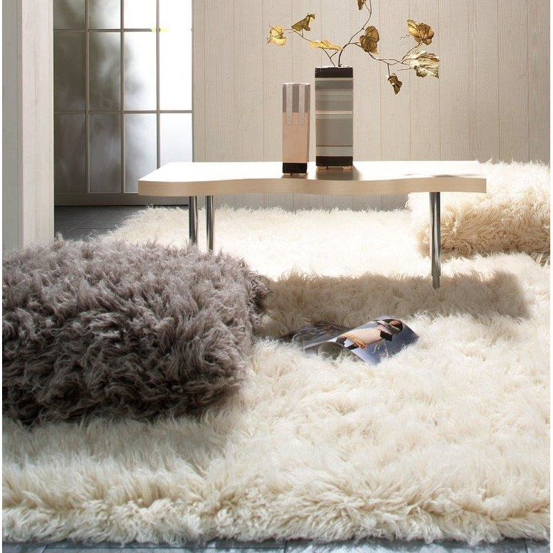 Fergus Handmade Wool Rug Fluffy rug, Wool rug, Shag rug