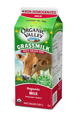 100% grass-fed milk