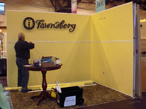Fawnsberg Tradeshow Booth | Bridal show booth ideas | Show