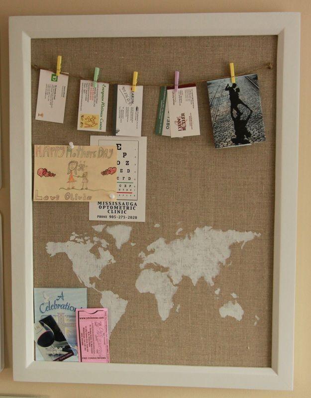 27 Smart DIY Cork Board Ideas For Your Home U0026 Office | Smart Cork Board  Ideas | Pinterest | Pin Boards Ideas, Fabric Bulletin Board And Cork Boards
