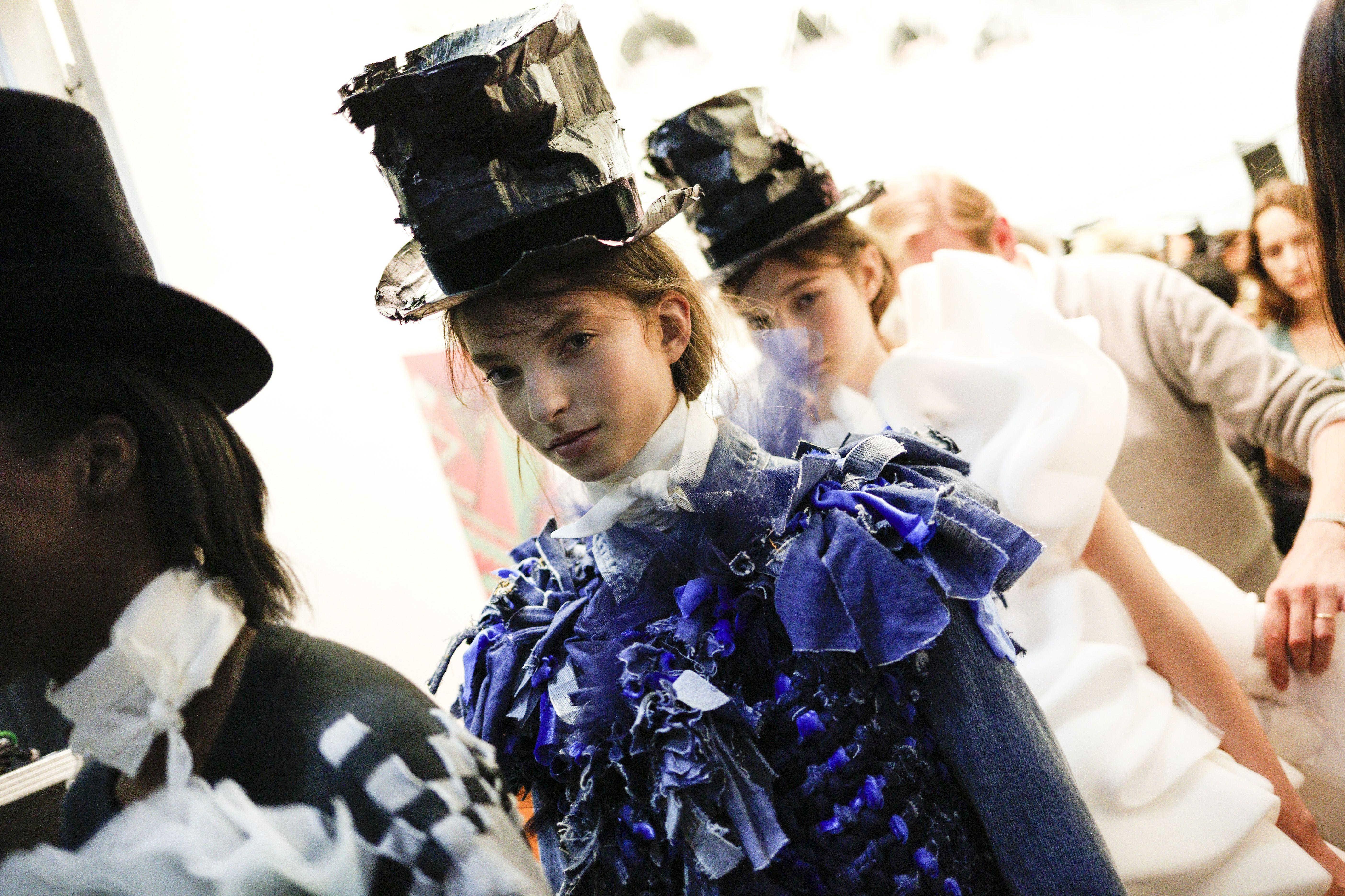 Viktor&Rolf, Vagabonds, Haute Couture, Autumn/Winter 2016, Backstage Fashion