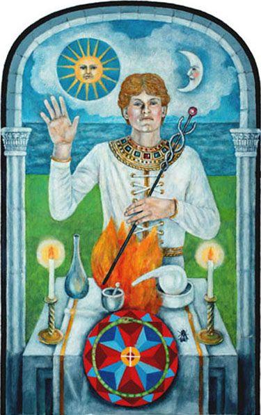 Jungian Deck: Magician Tarot - Google Search
