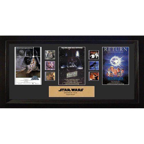 5% Off was $119.95, now is $113.96! Trend Ltd. - Star Wars cadre `Framed Film Cell` Trilogy