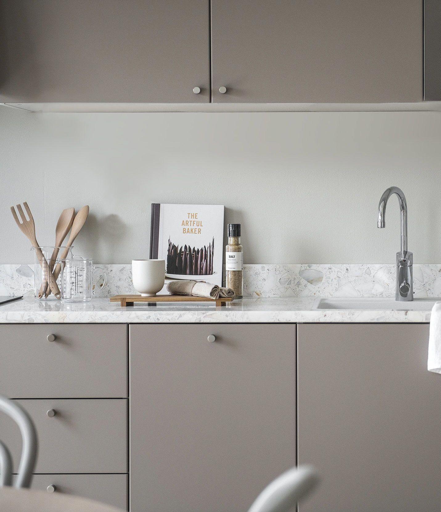 Scandinaviankitchen In 2020 Haus Interieurs Kuche Beige Kucheneinrichtung