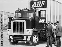 """Ken Goudy's ABF Collection Arkansas Best Freight System International """"Conco 1974"""