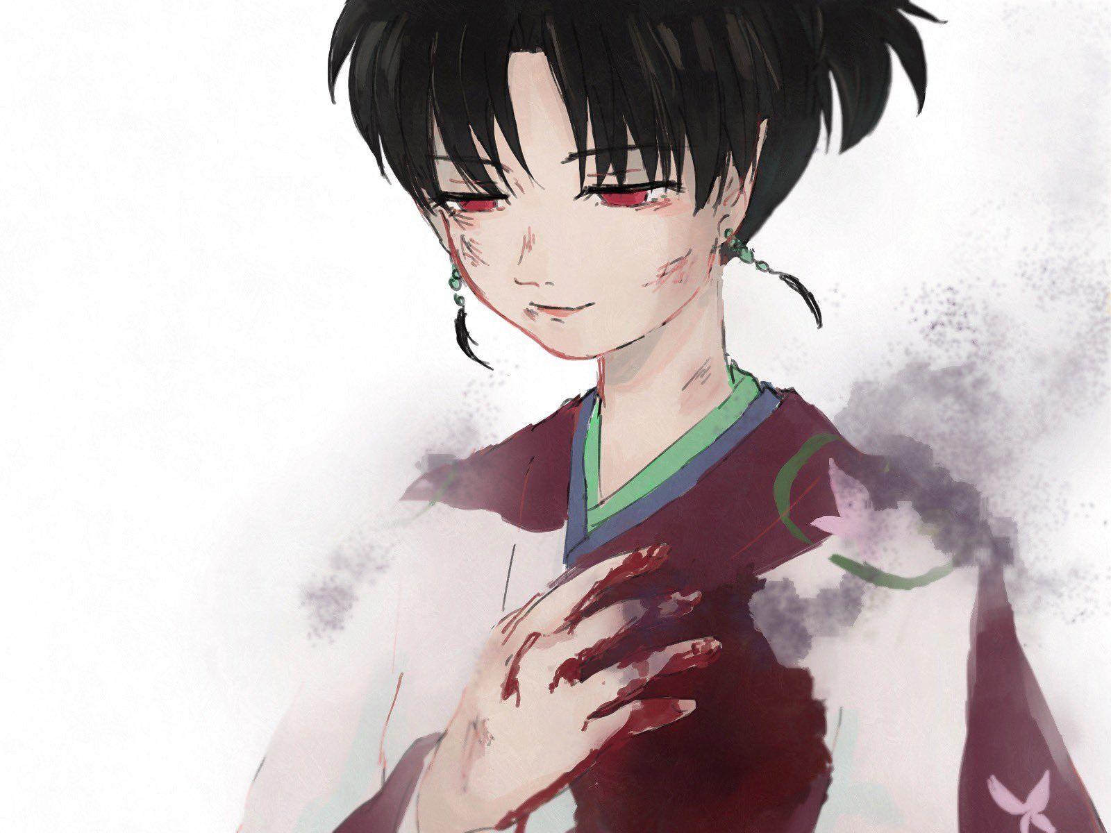 Inuyasha Fan Art: Kagura   Inuyasha fan art, Inuyasha, Fan art