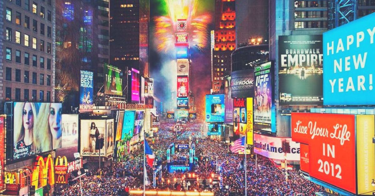 Image result for the crossroad of the world Times Square