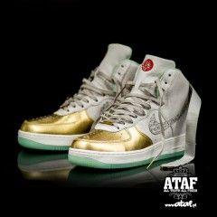 Nike Air Force 1 Hi Yoth Qs Shoes Nike Sportswear Ataf Nike Air Force Nike Nike Air