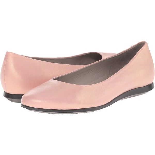 d85dcce409 ECCO Touch Ballerina 2.0 (Silver Pink) Women's Slip on Shoes ($91 ...