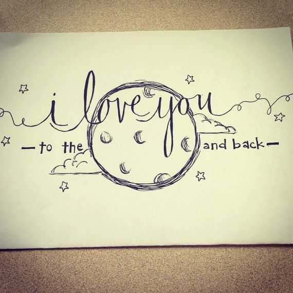 Personalized Letter Stationary Cute Drawings Of Love Drawings