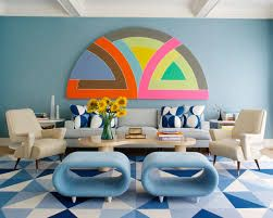 Image result for pastel color block wall