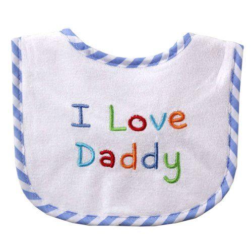 "$2.99 Luvable Friends Preemie/ Newborn ""I Love"" Embroidered Drooler Bib (Blue Stripe-Daddy) Luvable Friends,http://www.amazon.com/dp/B005HXTPWE/ref=cm_sw_r_pi_dp_bdImtb1PXMX0HA58"