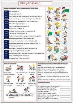 Reading and grammar worksheet on PCT. - ESL worksheets   English ...