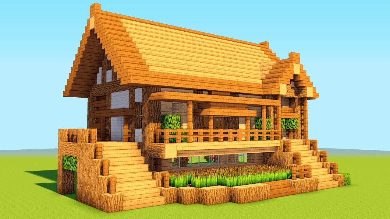 How To Build A Wooden Shelter Survival House Tutorial 2018 Minecraft House Tutorials Easy Minecraft Houses Cute Minecraft Houses