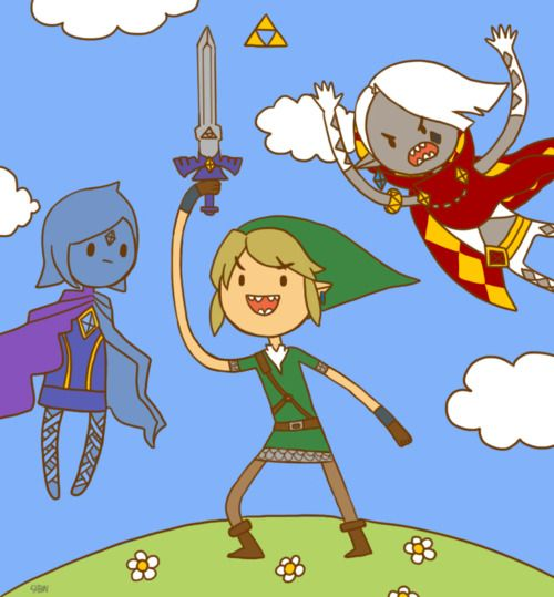 What Time Is It?  Zelda Skyward Sword x Adventure Time