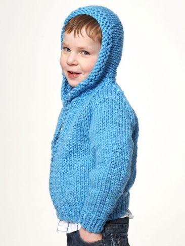 Kid\'s Jacket | Free Knitting Patterns | Yarnspirations | i like it ...