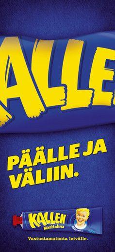 Kallen Mätitahna – Vastustamatonta leivälle Julistesuunnittelu Vuoden Huiput 2014 - Hopea huippu