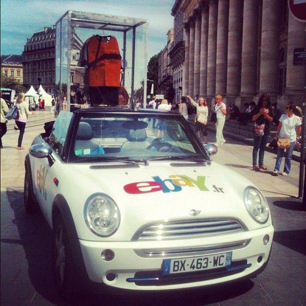 La Mini + la tenue de rêve + Bordeaux = l'équation parfaite