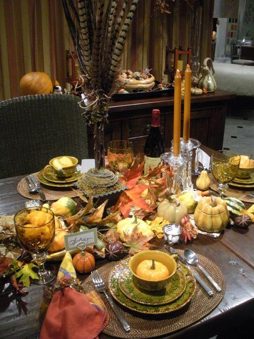 25 beautiful fall table settings | beautiful, fall table and