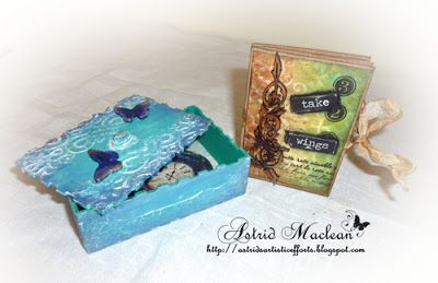 A Box of Affirmations for Calico Craft Parts