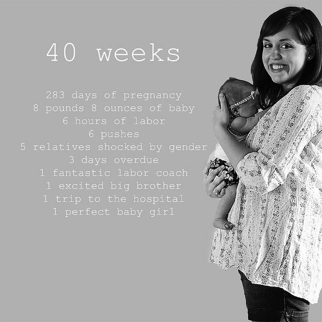 40 Weeks by Adventures of the Stay At Home Mom, via Flickr