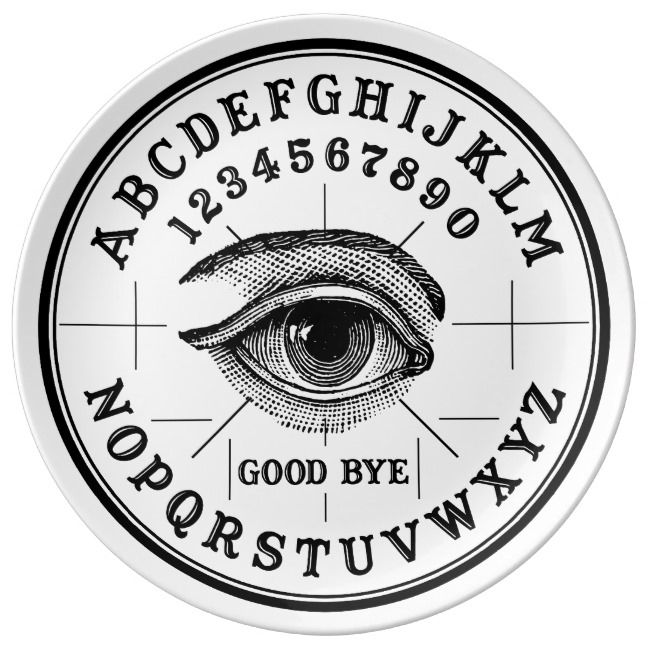 Photo of Vintage Fortune Telling Psychic Eye Dinner Plate | Zazzle.com