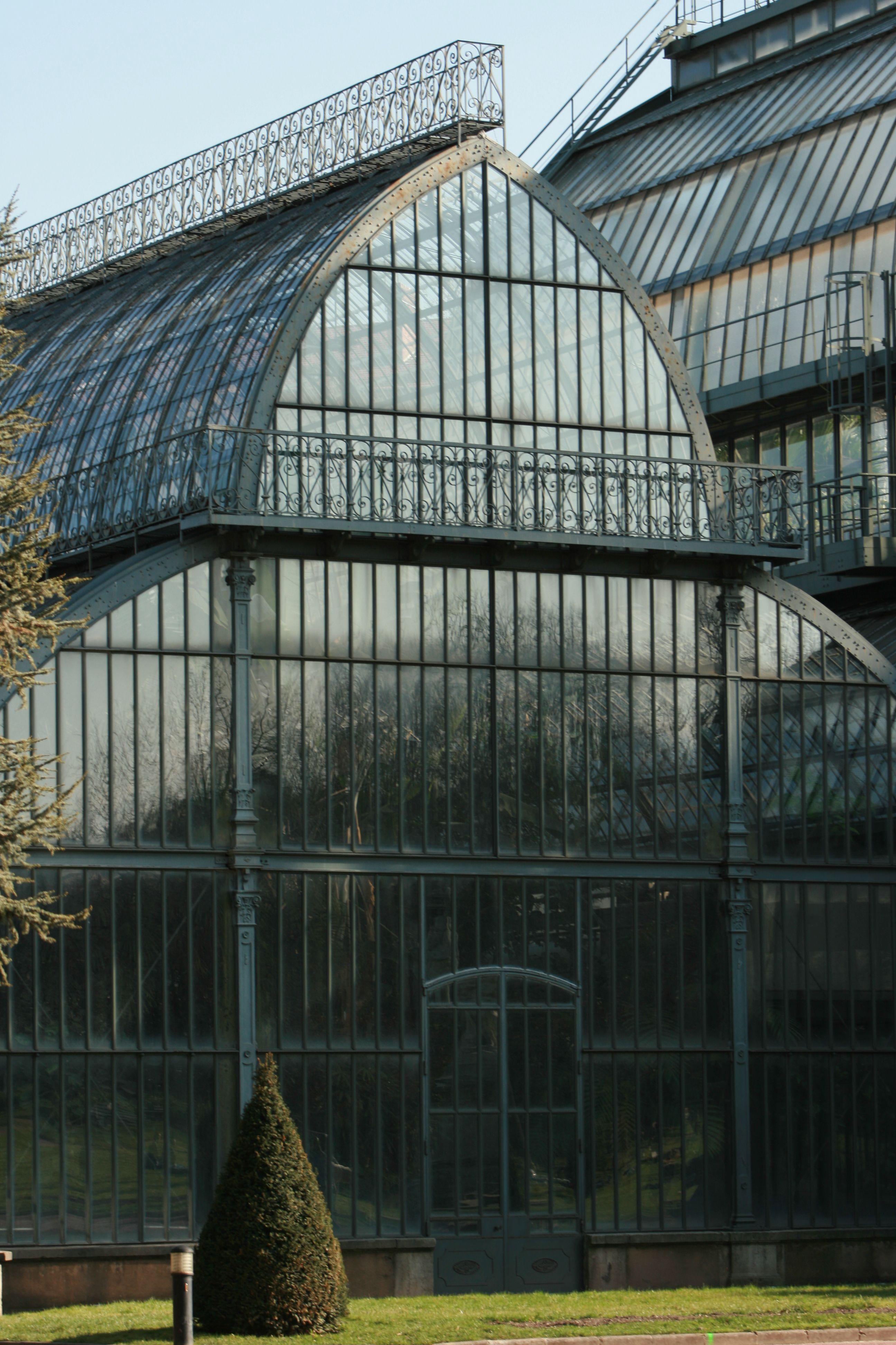 The greenhouses at Parc de la Tête d'Or, Lyon, RhôneAlpes