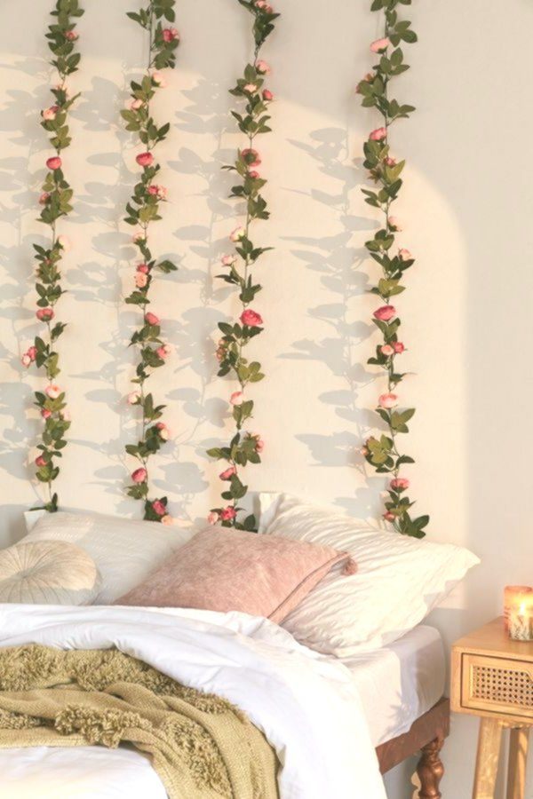 Decorative Rose Vine Garland #roomdecor #livingroom # ... on Vine Decor Ideas  id=92688
