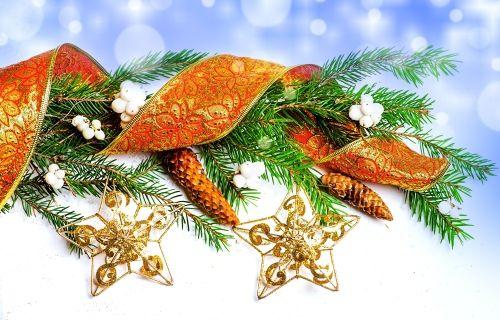 Happy Holidays - Christmas, New Year, Merry Christmas, Decoration, Christmas Magic, Decoration Christmas, Lovely, Ribbon, Gold, Happy New Year