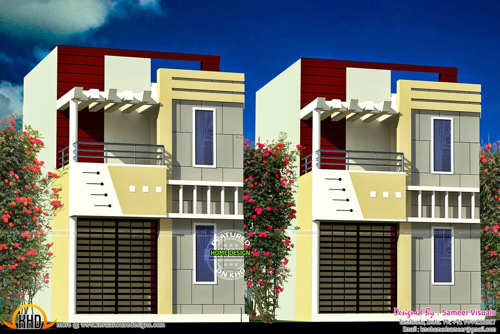 Front Design Of House 30x60 Site Part - 21: 30x60 House Plan India | Keralahousedesigns