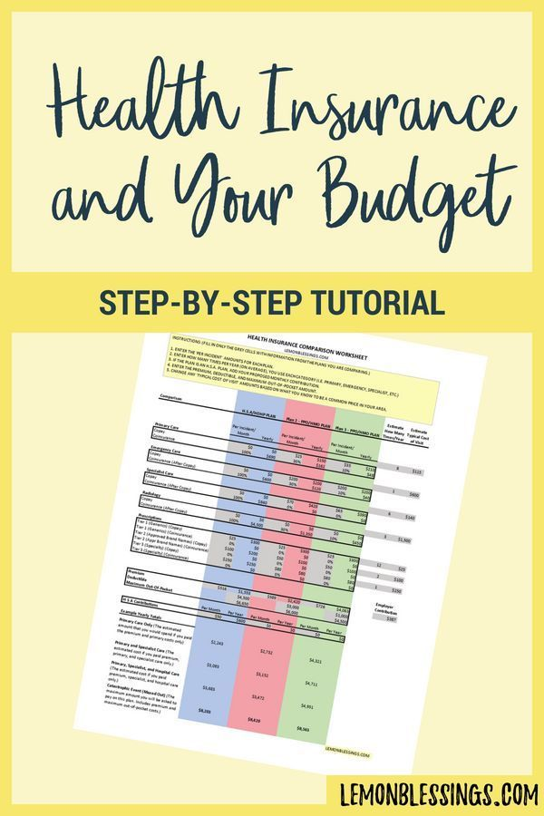 Dont let health insurance open enrollment ruin your budget momentum Click through for a FREE worksheet to help you make the right choice