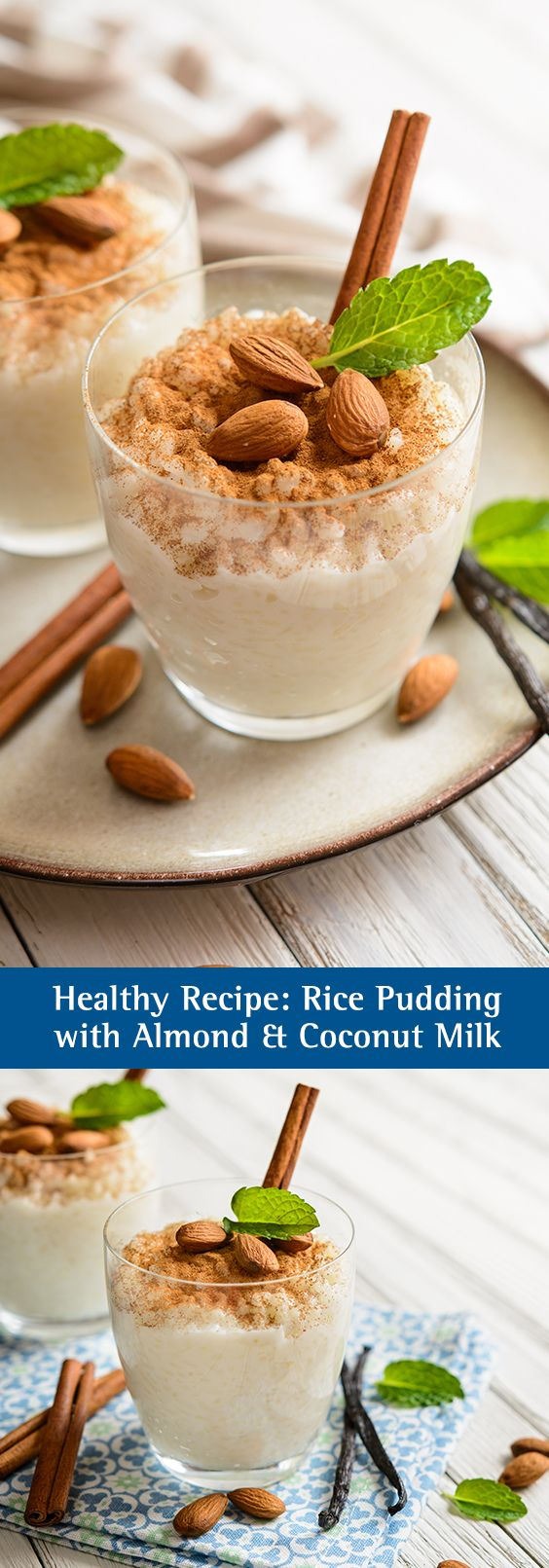 Almond and coconut milk rice pudding | Guilt free dessert ...