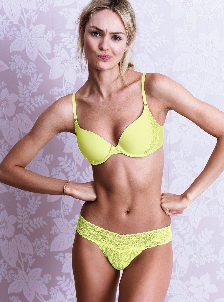 f222f84a57  Candice Swanepoel -- Victoria s Secret Lingerie. She looks vexed with the  camera man woman.