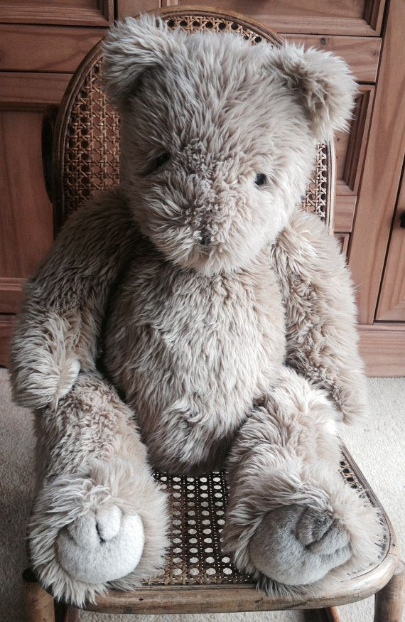 TY Jointed Vintage Teddy Bear 1990 24 by PixieStitchandCrafts ... 875e96ed7ca