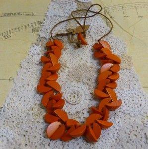 Rare Rabbit Apple Pieces Necklace