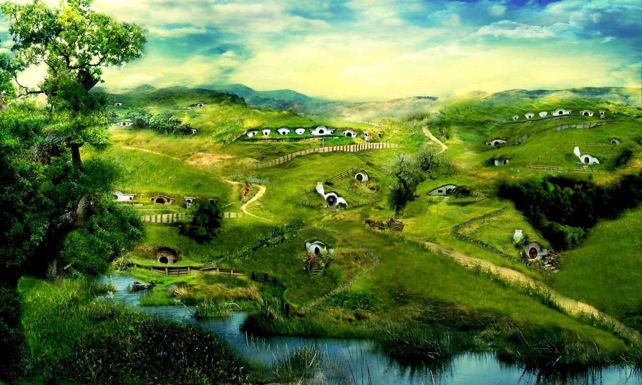 Lord Of The Rings Wallpaper Shire Google Search Middle Earth