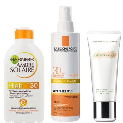 The suncare products we trust