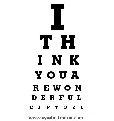 Custom Eye Chart Maker Problem Solving Pinterest Chart Maker