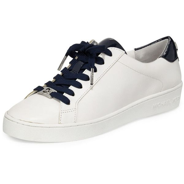 MICHAEL Michael Kors Irving Leather Lace Up Sneaker ($130